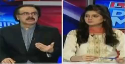 Live With Dr. Shahid Masood (Govt Crackdown Against PTI) – 28th October 2016
