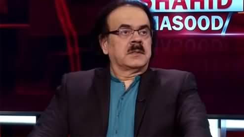 Live with Dr. Shahid Masood (Haalat o Waqiyat) - 19th August 2021