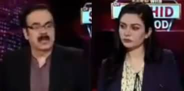 Live with Dr. Shahid Masood (Hungami Halaat) - 12th April 2020