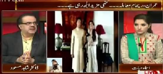 Live With Dr. Shahid Masood (Imran Khan, Reham Khan Issue) – 2nd November 2015