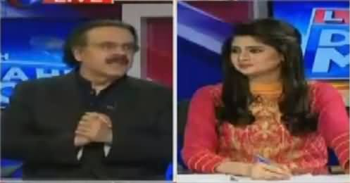 Live With Dr Shahid Masood (Imran Khan's Wise Decision) – 1st November 2016