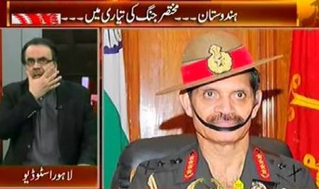 Live With Dr. Shahid Masood (India Preparing For War, Corruption Operation) – 5th September 2015