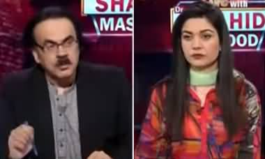 Live with Dr. Shahid Masood (India Supports Israel's Aggression) - 18th May 2021