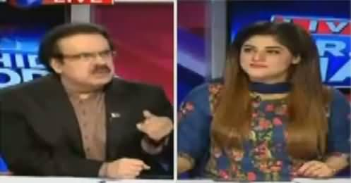 Live With Dr Shahid Masood (Indian Foreign Minister in Pakistan) – 3rd August 2016