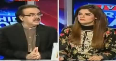 Live With Dr Shahid Masood (Jalson Ki Siasat Urooj Par) – 20th May 2016