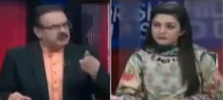 Live With Dr. Shahid Masood (Jang Aur Jamhoriyat) - 21st February 2019