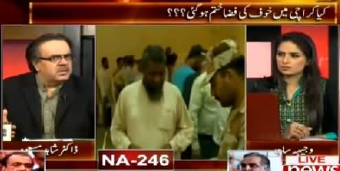 Live With Dr. Shahid Masood (NA-246: Kya Karachi Mein Khauf Ki Fizaa Khatam Ho Gai?) – 23rd April 2015