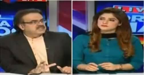 Live With Dr Shahid Masood (Kya PPP Bhi PTI Ke Sath Container Par Hogi) – 20th June 2016