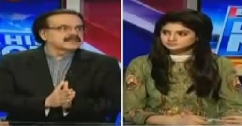 Live With Dr Shahid Masood (Leak Khabar Ka Muamla) – 10th October 2016