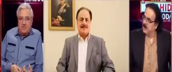 Live with Dr. Shahid Masood (Major Amir Exclusive   Part 2) - 6th September 2021