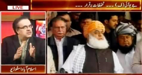 Live With Dr. Shahid Masood (Maulana Fazal ur Rehman Ke Tahaffuzat) – 28th February 2015