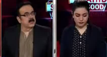 Live With Dr. Shahid Masood (Mazeed Afra-tafree) - 12th June 2020