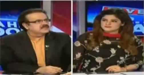 Live With Dr Shahid Masood (Mehmood Achakzai Statement) – 9th August 2016