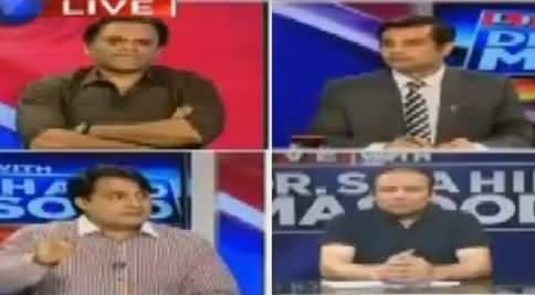 Live With Dr Shahid Masood (MQM's Attack on ARY News) – 22nd August 2016