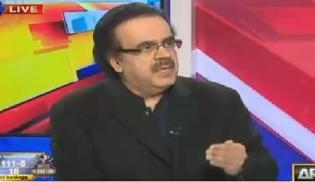 Live With Dr Shahid Masood (NAB Ko Control Karne Ki Tayyarian) – 19th February 2016