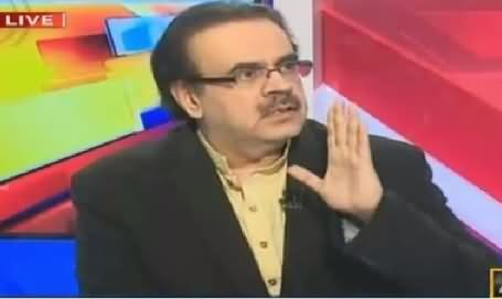 Live With Dr Shahid Masood (Operation Entered in Punjab) – 9th February 2016