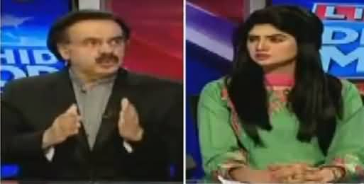 Live With Dr Shahid Masood (Pak India Tension & Other Issues) – 3rd October 2016