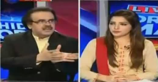 Live With Dr Shahid Masood (Panama Leaks, Jalson Ki Yalghaar) – 25th April 2016