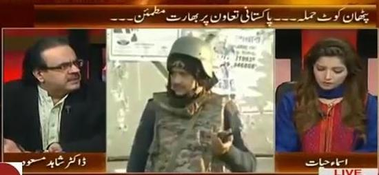 Live With Dr. Shahid Masood (Pathankot Attack: India Satisfied with Pakistan) – 14th January 2016