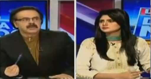 Live With Dr Shahid Masood (Pervez Rasheed Speech, Where Is Absar Alam) – 5th October 2016