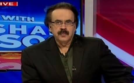 Live With Dr Shahid Masood (PM Speech, PTI Dharna & Other Issues) - 21st October 2016