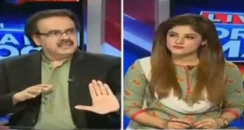 Live With Dr Shahid Masood (President Speech, Opposition Angry) – 1st June 2016