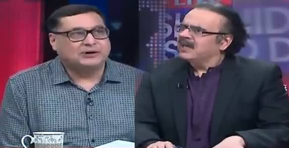 Live with Dr Shahid Masood (Prof. Adil Najam) Part-1 - 14th July 2018