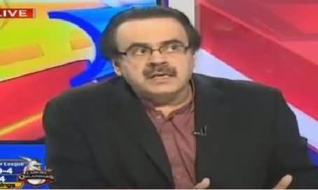 Live With Dr Shahid Masood (Punjab Mein Operation Ka Aaghaz) – 10th February 2016