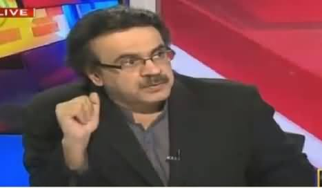 Live With Dr Shahid Masood (Rumors About Altaf Hussain) – 9th March 2016