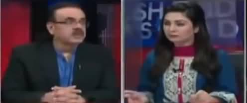 Live With Dr. Shahid Masood (Sakht Ahtasab Hone Ja Raha Hai) - 23rd October 2018