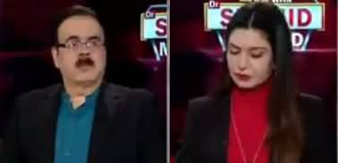 Live With Dr. Shahid Masood (Sazishon Per Sazishein) - 29th January 2020