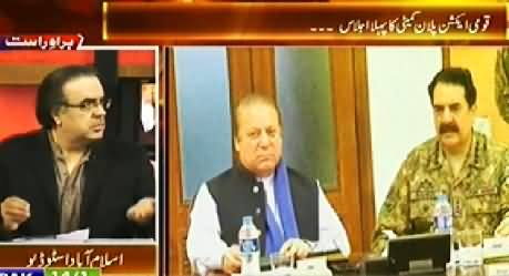 Live With Dr. Shahid Masood (Security Risks Increased in Pakistan) - 19th December 2014