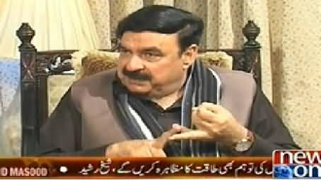 Live With Dr. Shahid Masood (Sheikh Rasheed Exclusive Interview) - 25th November 2014