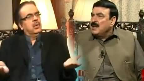 Live With Dr. Shahid Masood (Sheikh Rasheed Latest Interview) - 24th January 2015