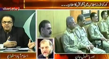 Live with Dr. Shahid Masood (Special Transmission) 11PM To 12AM – 31st August 2014