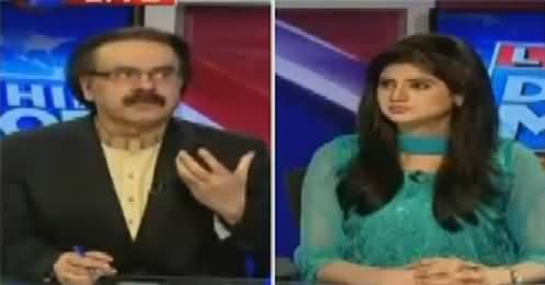 Live With Dr Shahid Masood (Tahir ul Qadri & Imran Khan United) – 24th October 2016
