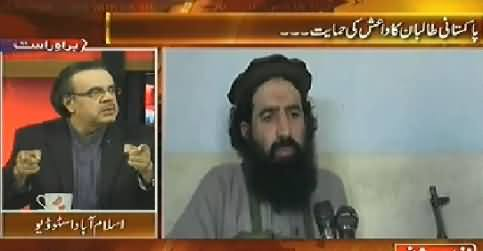 Live With Dr. Shahid Masood (TTP Announce Allegiance with ISIS) – 14th October 2014