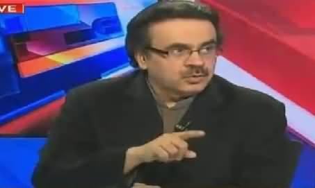 Live With Dr Shahid Masood (What Is Going to Happen with MQM?) – 4th March 2016