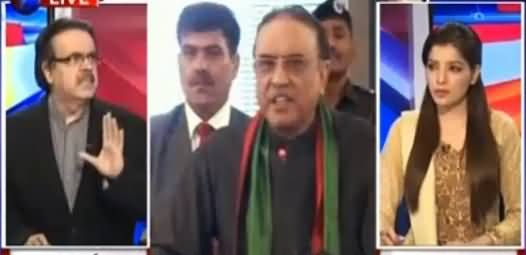 Live With Dr Shahid Masood (Why Zardari Took Back His Statement) – 25th February 2016