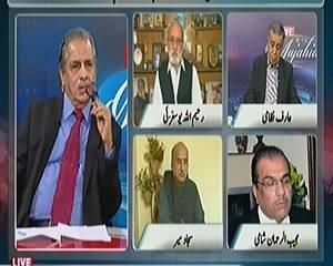 Live With Mujahid (Kya Pakistan Mein Media Taqseem Ho Chuka?) – 17th May 2014