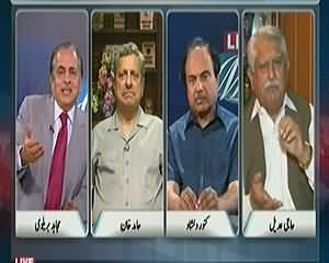 Live With Mujahid (Why PTI Campaign is Against only Rigging) - 24th May 2014