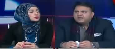 Live with Nadia Mirza (Fawad Chaudhry Exclusive Interview) - 9th January 2019