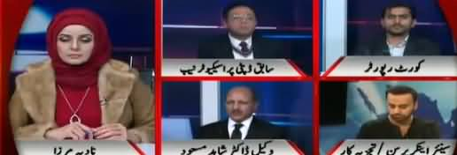 Live with Nadia Mirza (Humiliation of Dr. Shahid Masood) - 10th January 2019