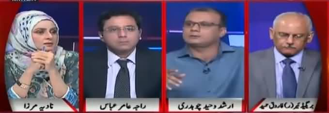 Live with Nadia Mirza (Khawaja Haris Nawaz Sharif Ko Choor Gaye) - 12th June 2018