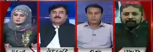 Live with Nadia Mirza (Money Laundering Allegations on Nawaz Sharif) - 10th May 2018