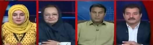 Live with Nadia Mirza (Mushkilat Mein Ghiri PMLN) - 15th October 2018