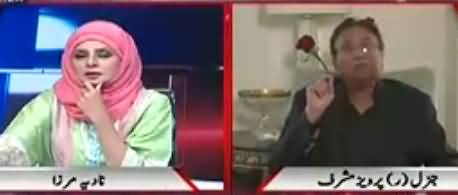 Live with Nadia Mirza (Pervez Musharraf Exclusive Interview) - 9th May 2018