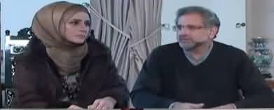 Live with Nadia Mirza (Shahid Khaqan Abbasi Interview) - 7th January 2019