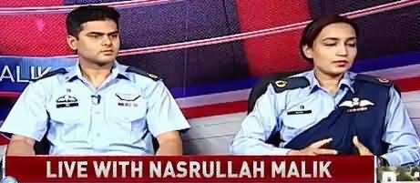 Live With Nasrullah Malik (Pakistan Air Force) – 7th September 2018