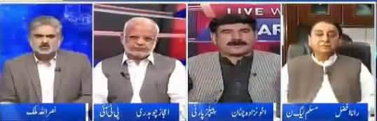 Live With Nasrullah Malik (Pakistani Politics Going Backward?) – 1st April 2018